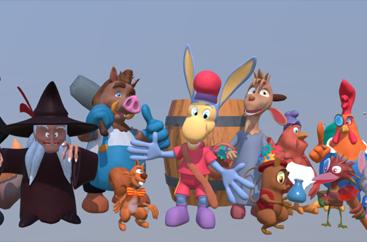 «Les aventures de Frigoulette et ses amis» en 3D
