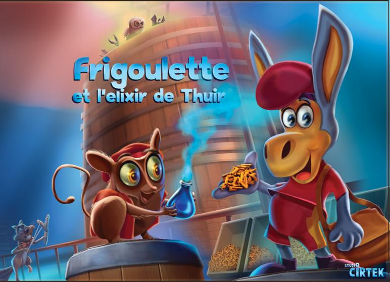 VOL.4 – Frigoulette et l'elixir de Thuir